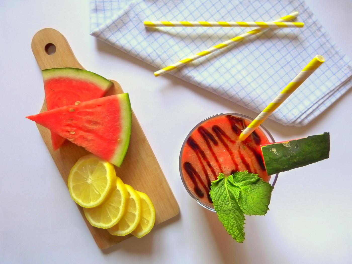 Gazpacho de pastèque