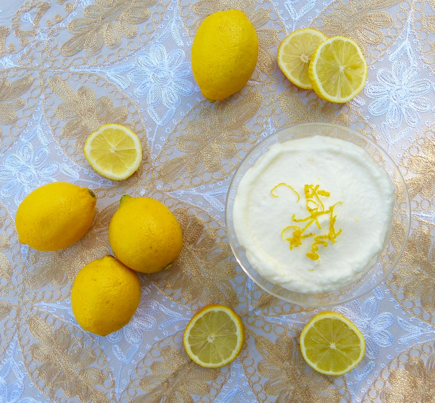 Mousse mascarpone et citron