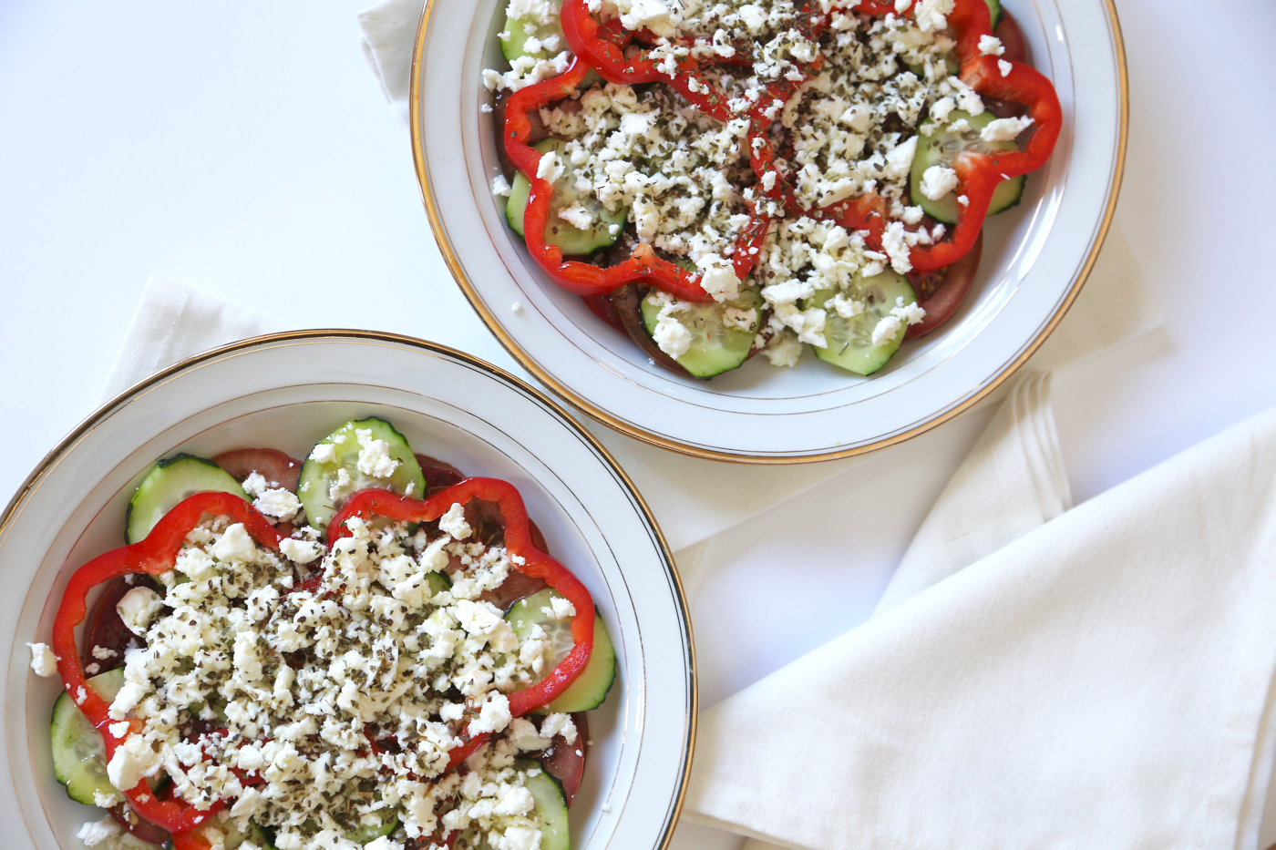 Salade grecque - 1