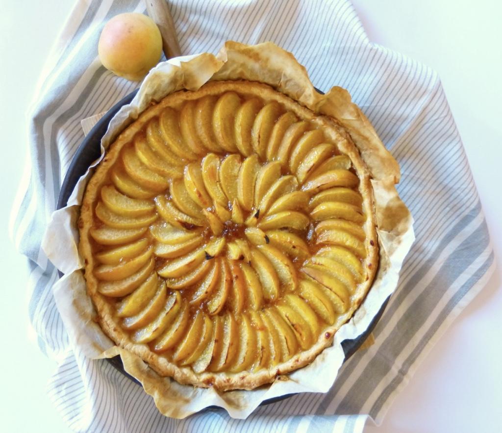 Tarte abricot 1