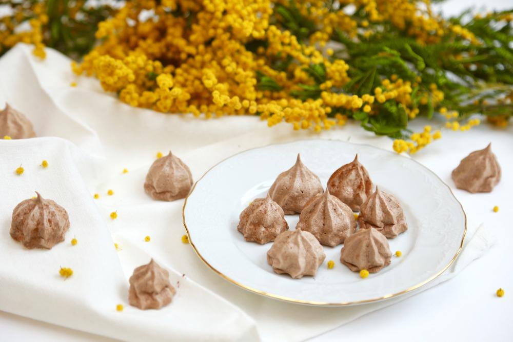 Meringues cacao - 2