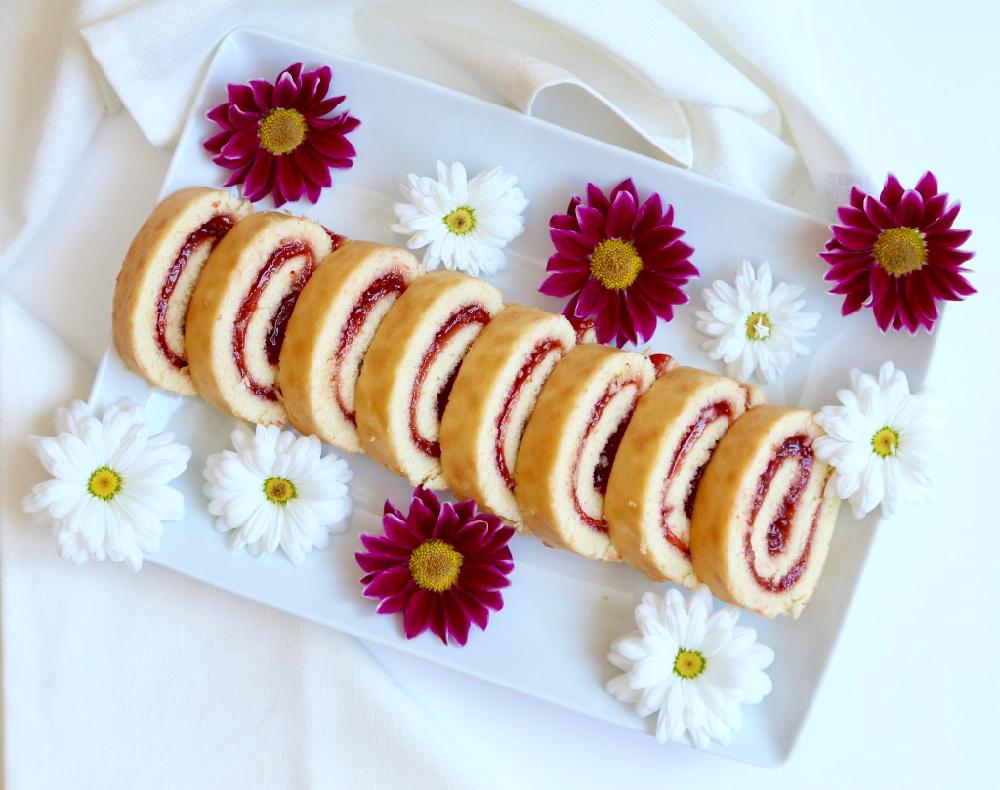 Roulés fraises - 1