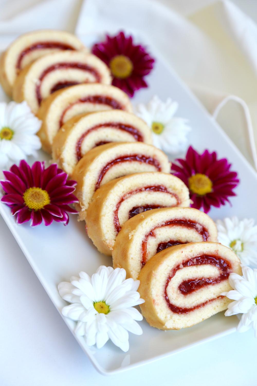 Roulés fraises - 2