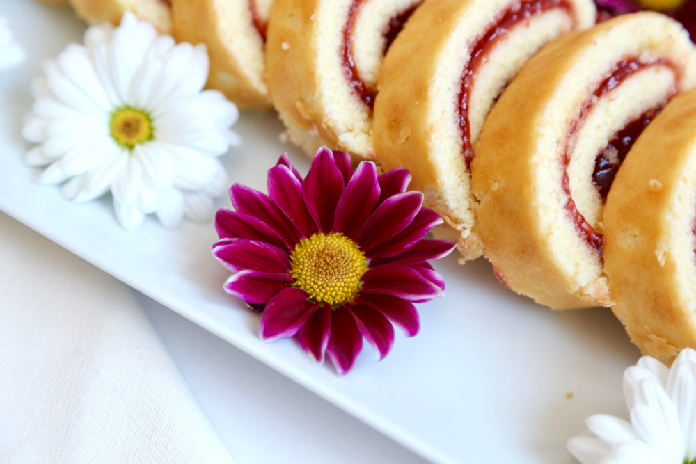 Roulés fraises - 3