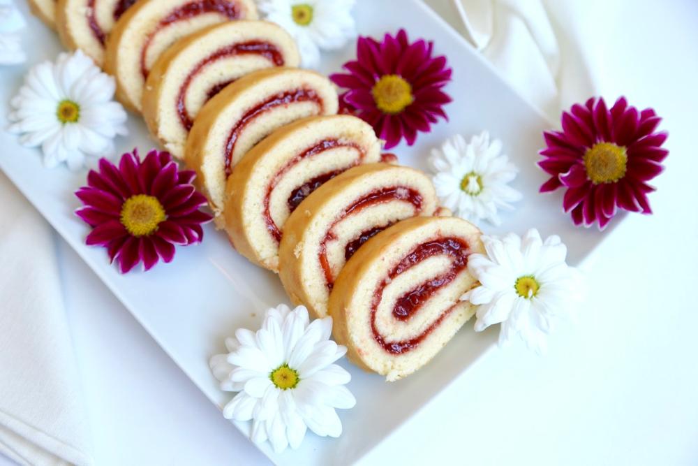 Roulés fraises - 5