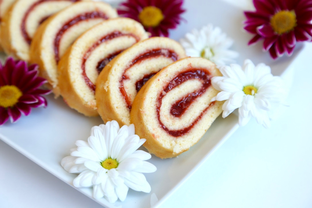 Roulés fraises - 6