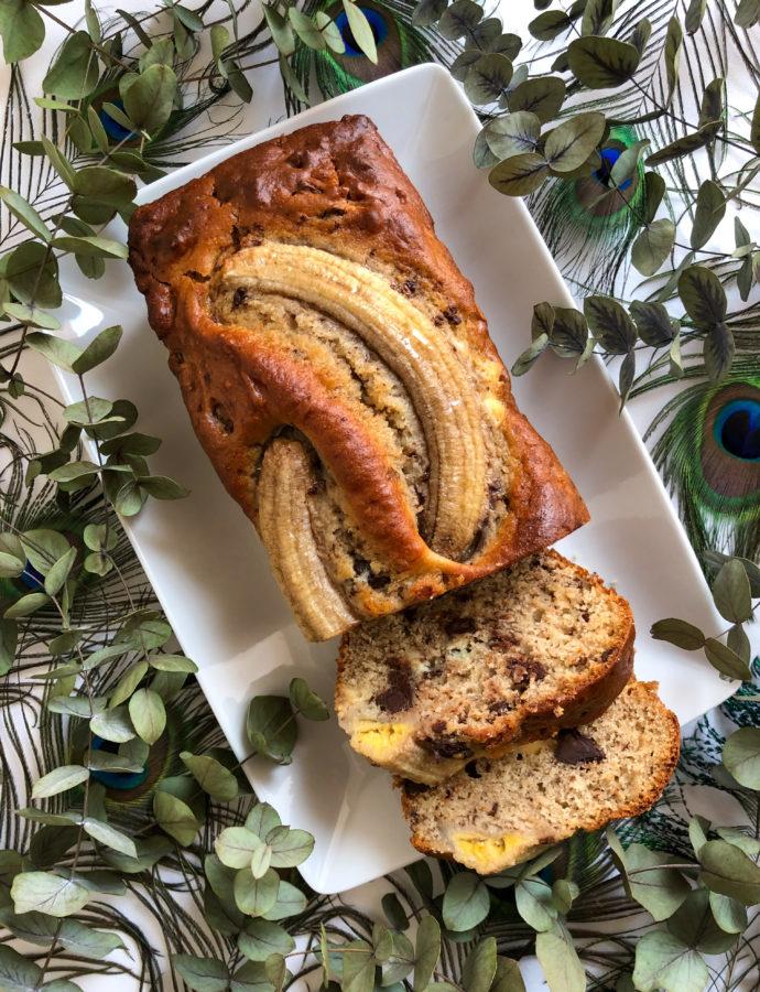Banana bread très moelleux