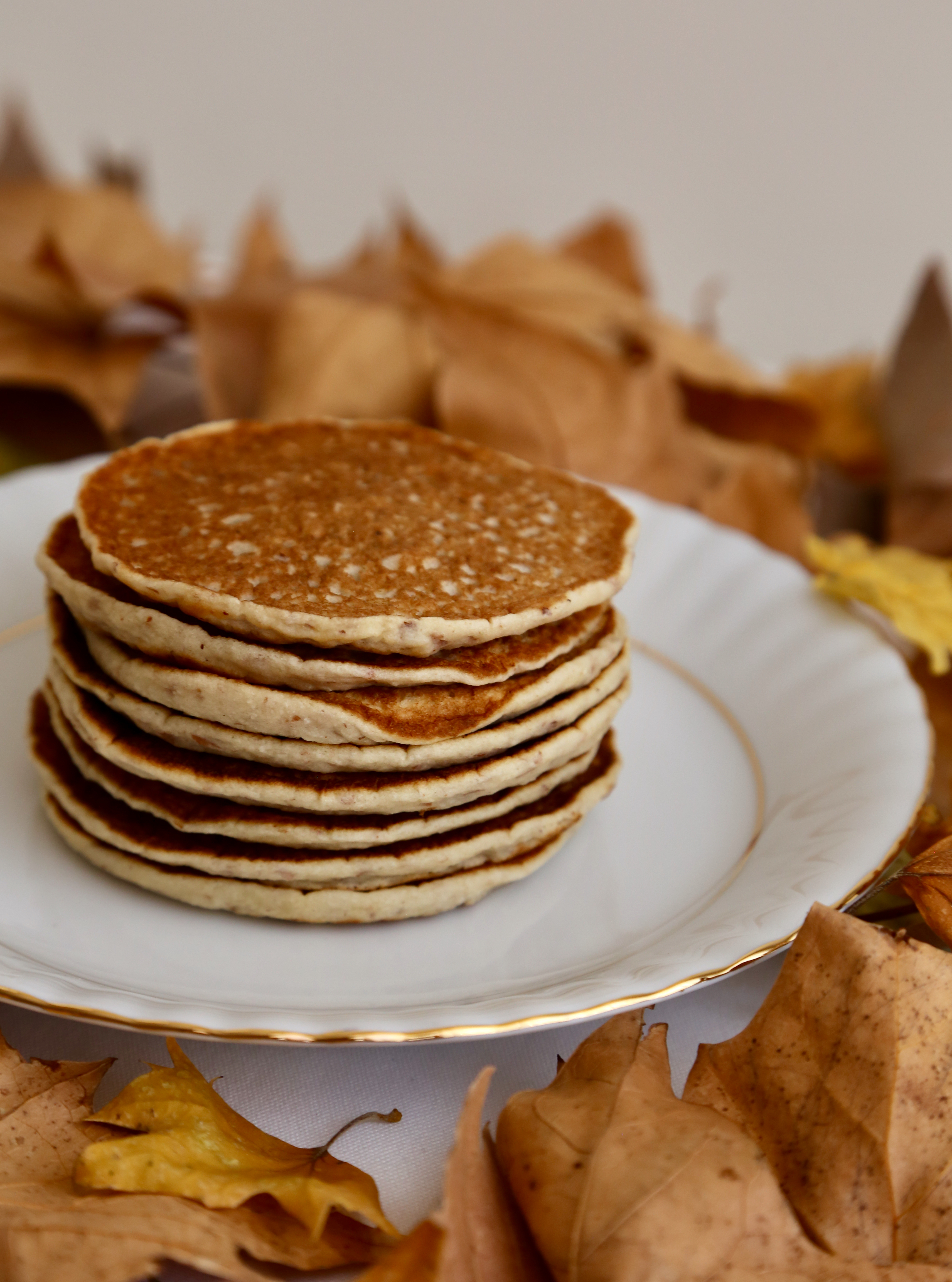Lait d'amande et pancakes à l'okara